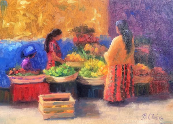 Market Day | B. Oliver, Art