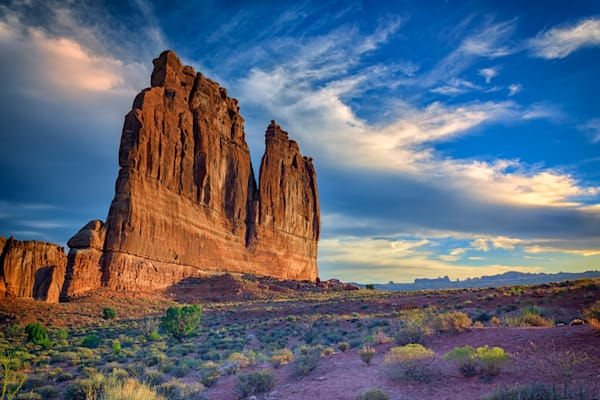 The Organ of Arches National Park