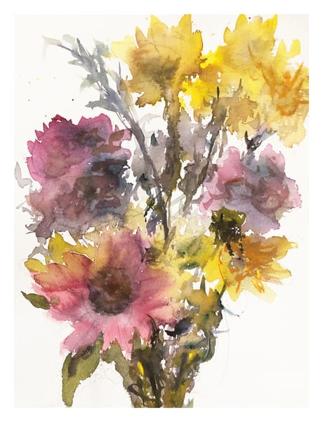 Bouquet | High Resolution Print for Sale | Nishita Jain
