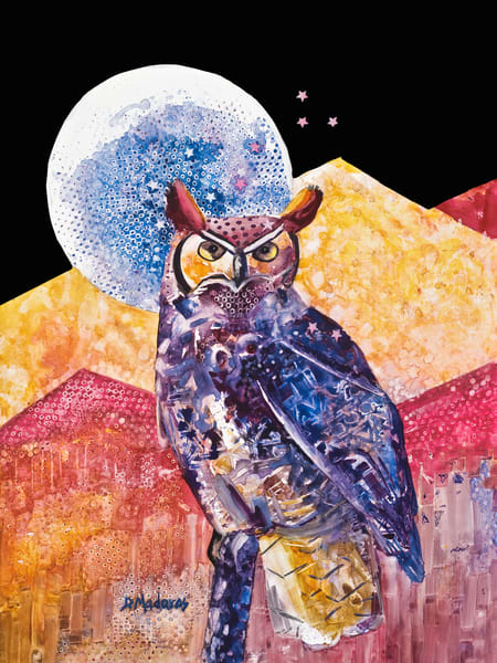 Night Owl Spirit Animals by Diana Madaras