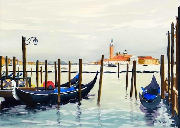 Venice: looking towards Isola di San Giorgio Maggiore