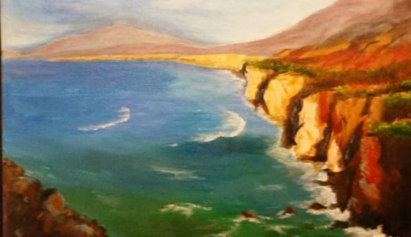 "Tranquil Cliffs (16"" x 20"")"