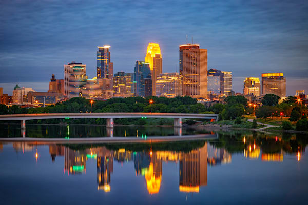 Minneapolis Reflections by Rick Berk