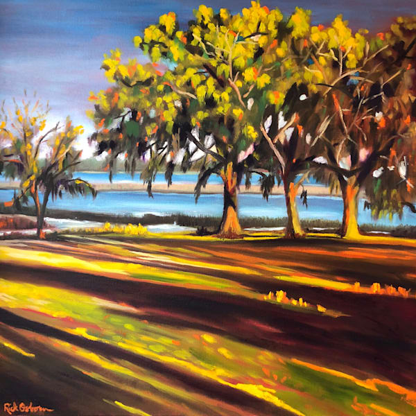 Low Country Light | Fine Art Painting by Rick Osborn