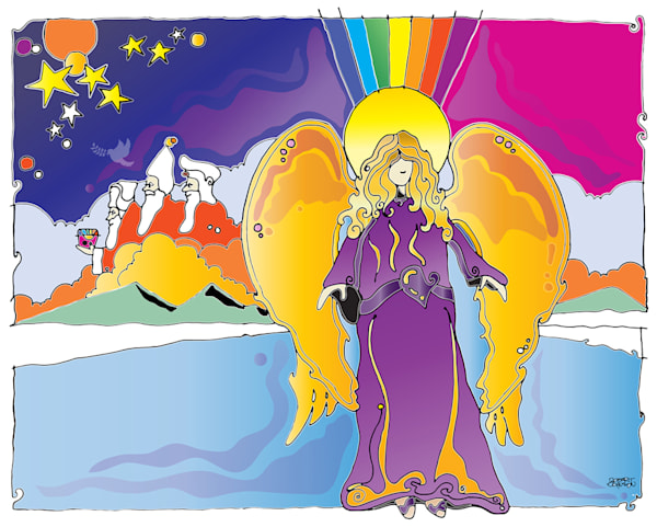 Angels Among Us by Robert Johnson