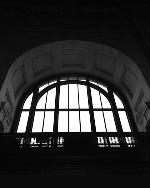 Union Station in BW