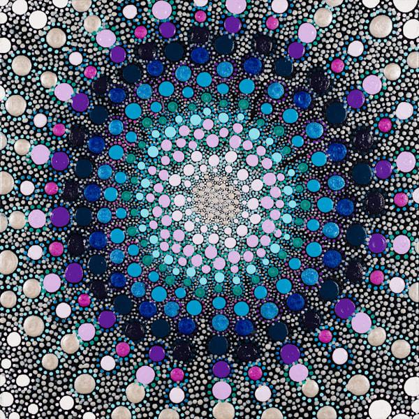 Blue & Purple Original Art
