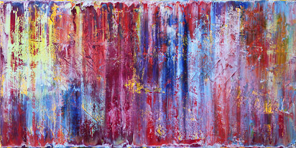 Rain Dance large abstract painting