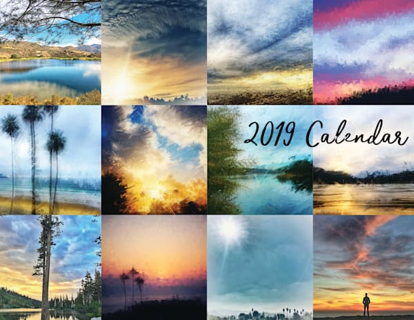 2019 Art Calendar - Digital Paintings by Art4TheGlryOfGod