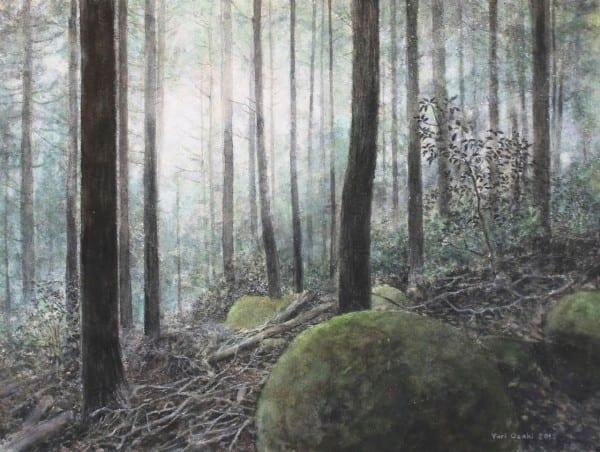 Yakiyama #9 Art | Romanova Art