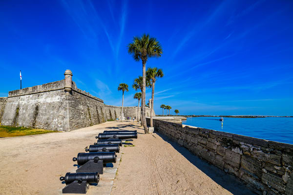 Castillo de San Marcos photography