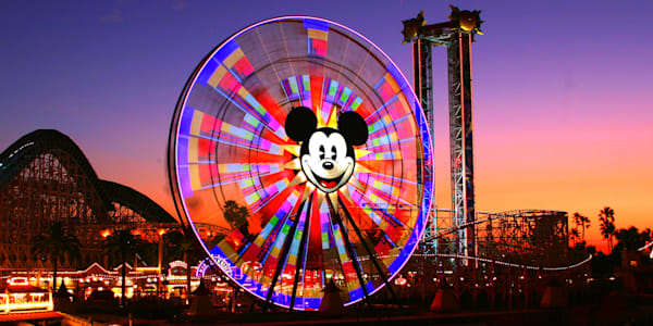 Mickey's Fun Wheel - Disneyland Pictures | William Drew
