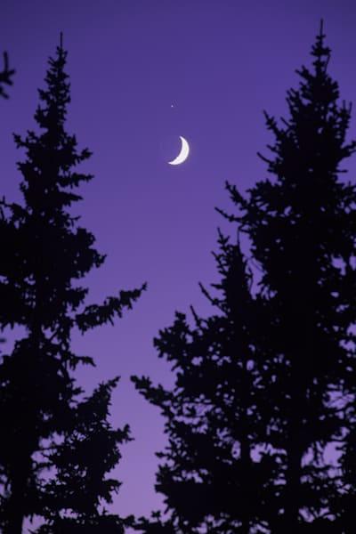 Hoosier Pass Moon Art | Brandon Hirt Photo