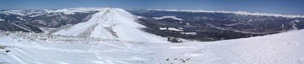 Peak 8 Pano Breck Art | Brandon Hirt Photo