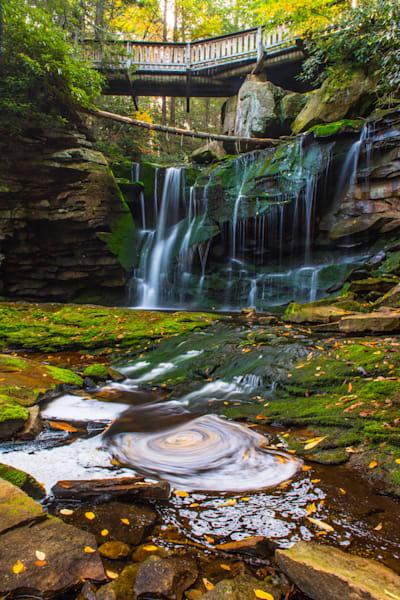 West Virginia Waterfall Art   Brandon Hirt Photo