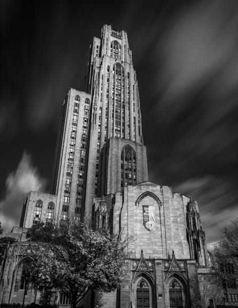 Cathedral Of Learning Art | Brandon Hirt Photo