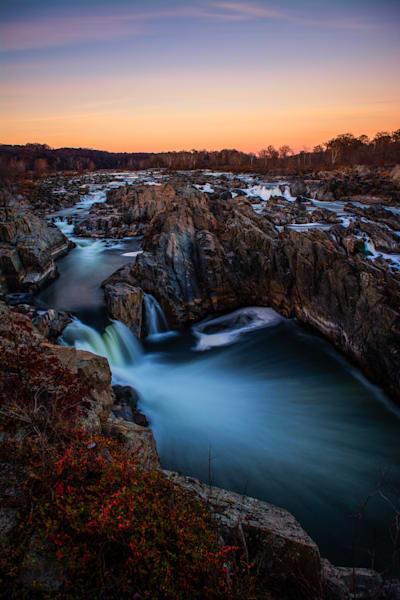 Great Falls Sunset Art | Brandon Hirt Photo