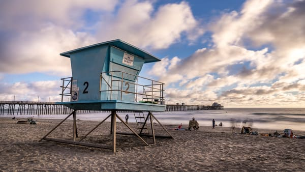 Lifeguard Tower 2 Oceanside