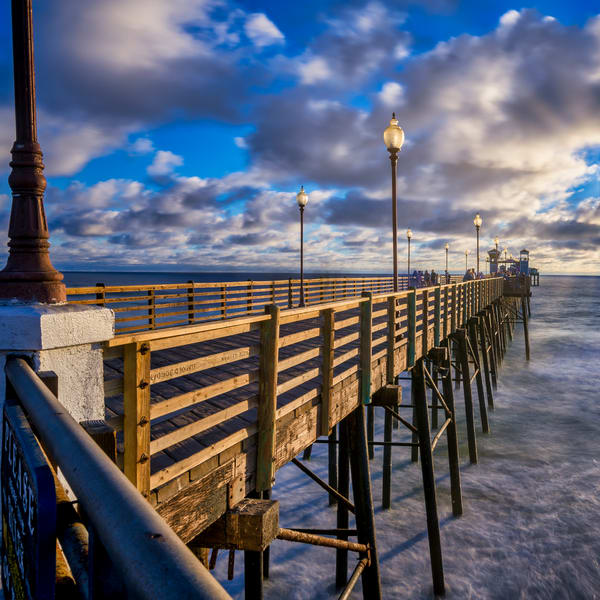 Oceanside Pier Photography Art | James Patrick Pommerening Photography