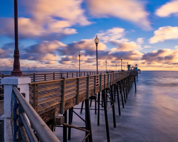 Oceanside Pier Sundown