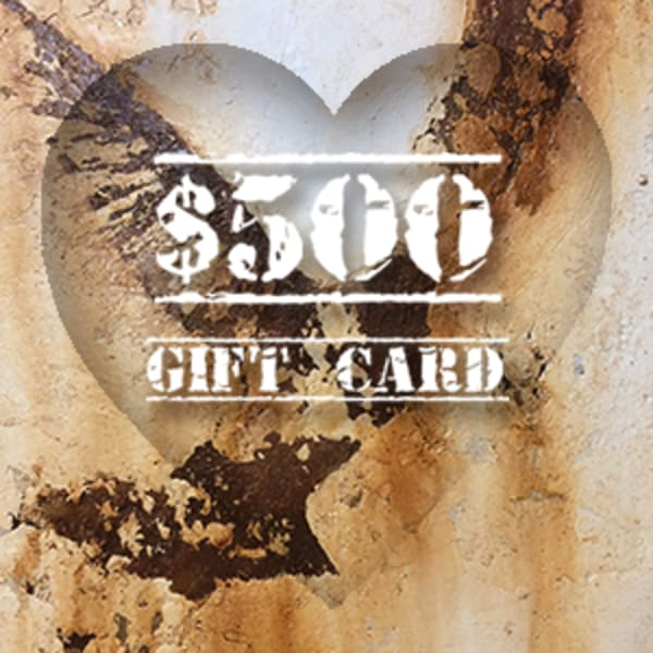 Valentines Gift Card $500