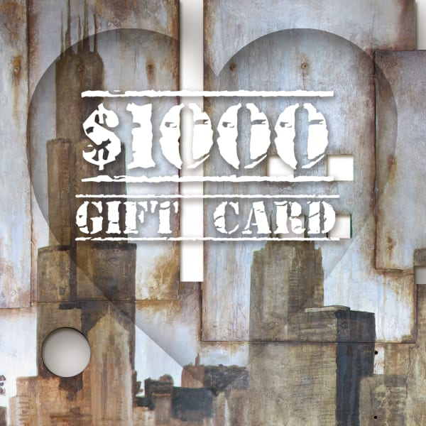 Valentines Gift Card $1000