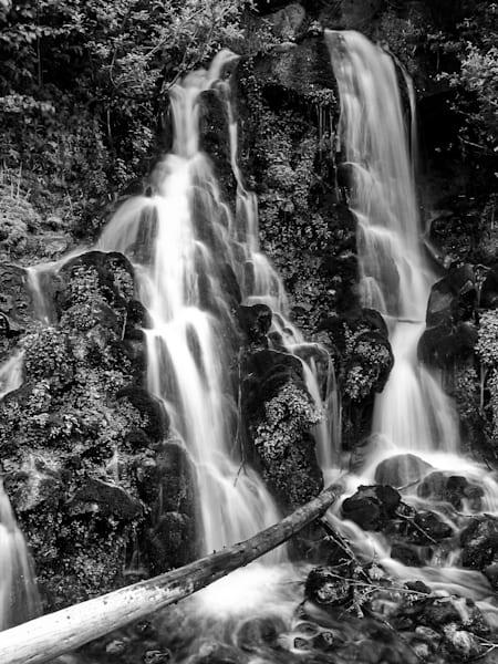 Mt. Hood Waterfall Art   Brandon Hirt Photo