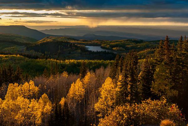 Grand Mesa Sunset Art | Brandon Hirt Photo