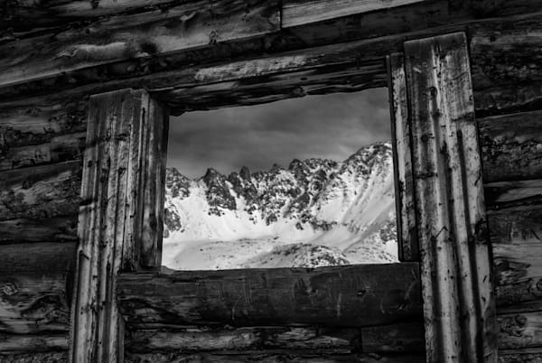 Mayflower Gulch Window Art   Brandon Hirt Photo