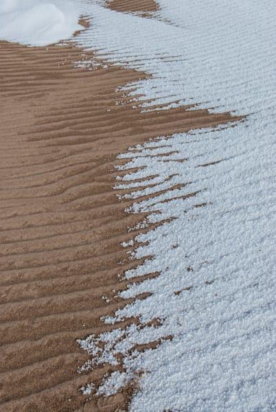 Sand Dunes Snow Art | Brandon Hirt Photo