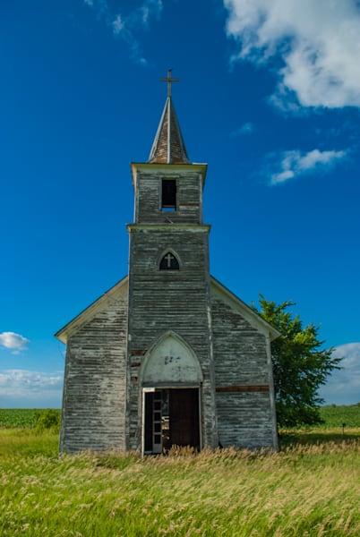 Church On The Plains Art | Brandon Hirt Photo
