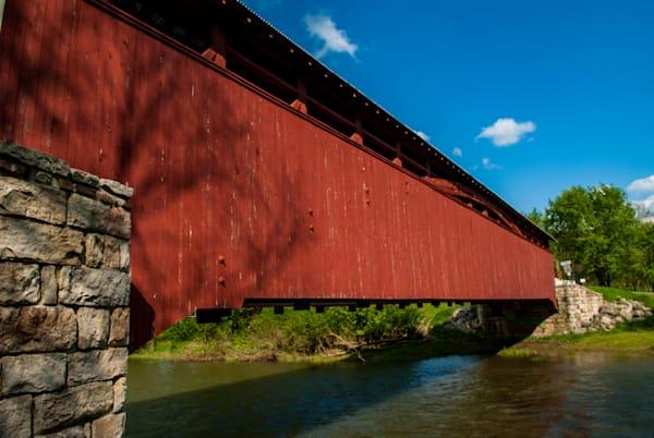 Herline Covered Bridge Art | Brandon Hirt Photo