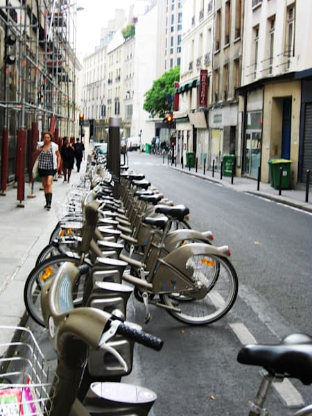 Street of Bicycles