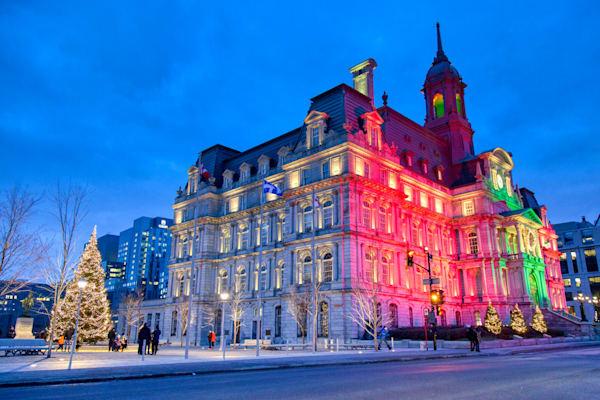 Montreal City Hall 4 - Prints