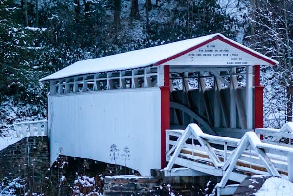 Jacksons Mill Covered Bridge Art | Brandon Hirt Photo