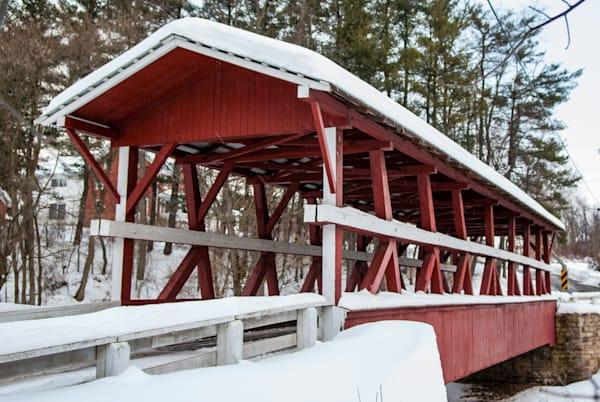 Colvin Covered Bridge Art | Brandon Hirt Photo