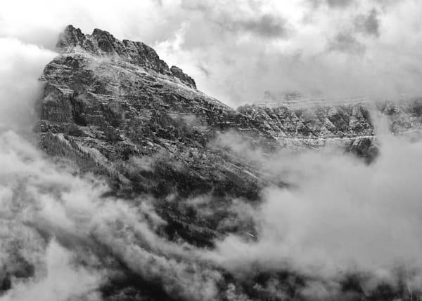 Glacier National Park Snow