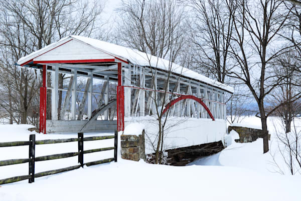Dr. Knisely Covered Bridge Art | Brandon Hirt Photo