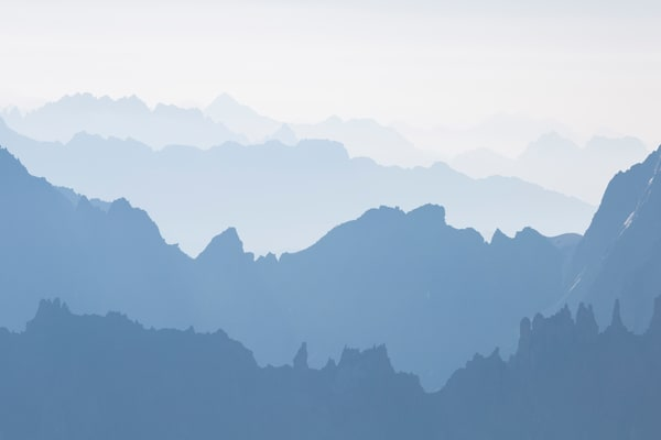 Alpine Layers #1 Photography Art | Will Nourse Photography