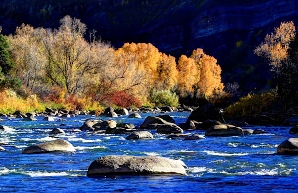 Animas River in Durango, Colorado-shop art/masonandmasonimages.com