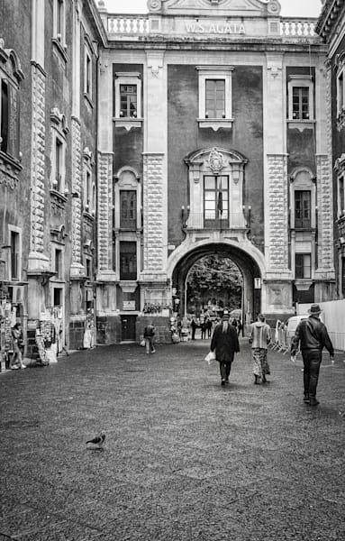 Leaving Piazza Duomo