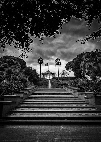 Bellini Garden Park in Catania, Sicily