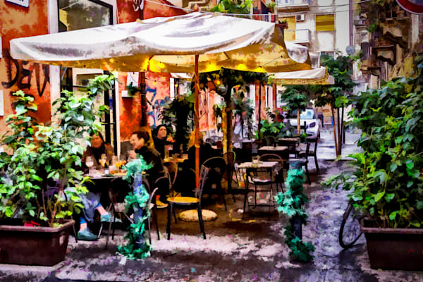 Cafe in Catania