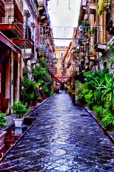 Alley in Catania