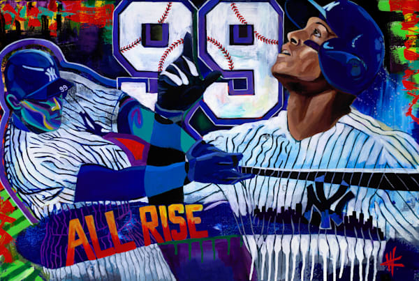 All Rise. Limited Edition Art | Cortney Wall Fine Art