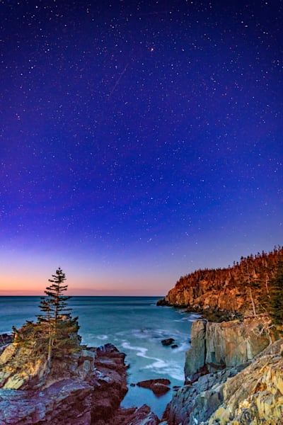 Starry Night at Gulliver's Hole by Rick Berk