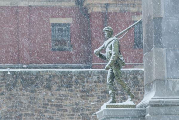 Ebensburg Snow Art | Brandon Hirt Photo