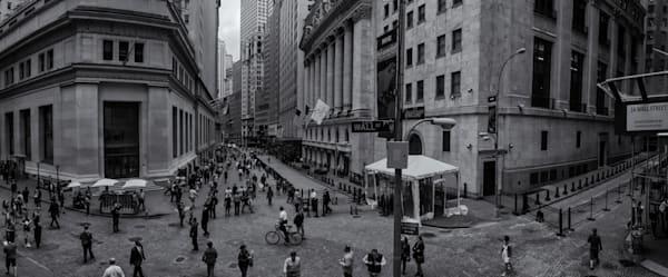 Wall Street Scene