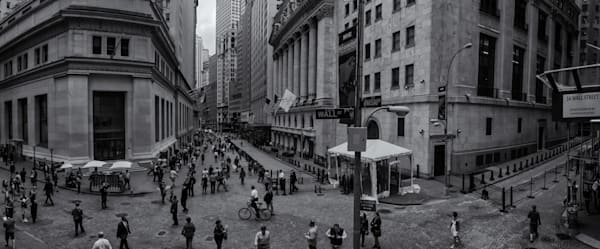 Wall Street Scene Photography Art | Namaste Photography