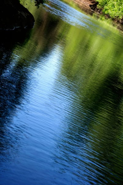 Yamhill River Abstract 24849